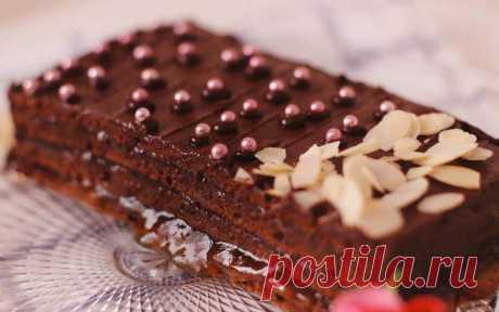 Торт захер – пошаговый рецепт с фотографиями
