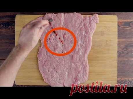 """Такой рецепт мяса """"Гирос"""" вы еще не видели! Блюда для большого праздника."""