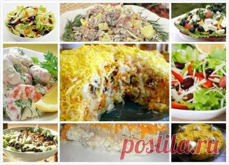 Салатики. Топ-11 | Просто и вкусно