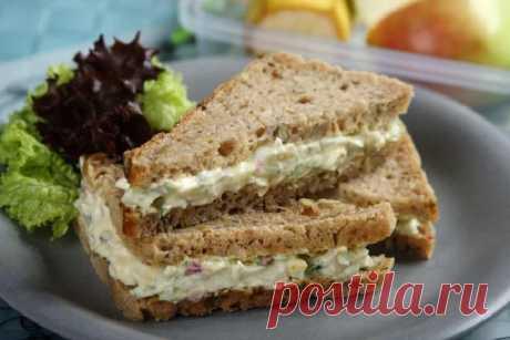 Бутерброды на завтрак с яйцом и огурцом – пошаговый рецепт с фото.