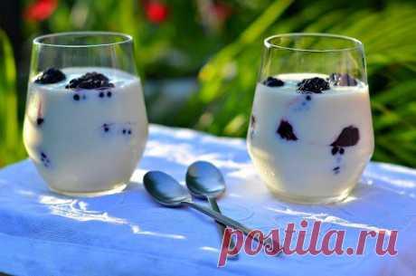 Десерт с ежевикой — Привет, Кухонька! Пошаговые рецепты с фотографиями