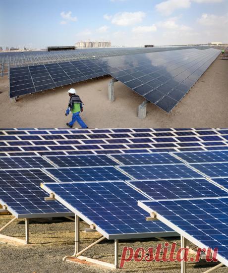 Египет откроет крупнейшую в мире солнечную электростанцию - Экологический дайджест FacePla.net