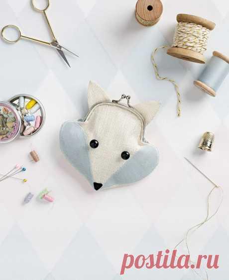 Кошелек-мышка с фермуаром своими руками — Мастер-классы на BurdaStyle.ru