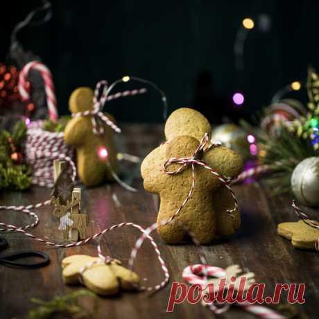 Вкусные домашние пряники на Рождество в домашних условиях - пошаговый рецепт с фото