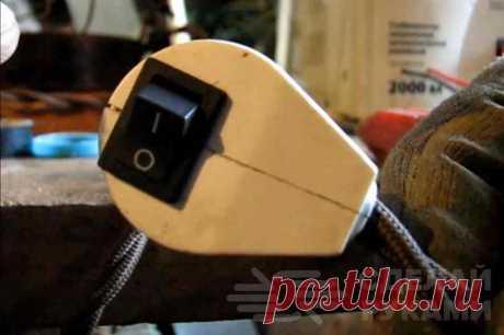Идея для мастерской: как сделать вилку с встроенным выключателем В данном обзоре автор делится собственной идеей, как сделать своими руками вилку с встроенным выключателем. Точнее, как встроить выключатель в уже готовую