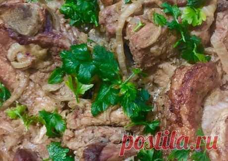 Свиные рёбра в брусничном соусе Автор рецепта Анна Донцова - Cookpad