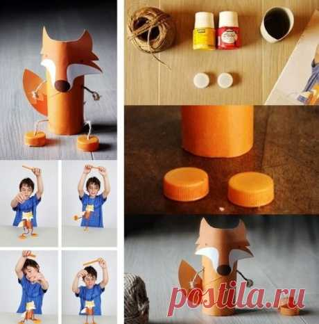 Поделки животных для детей из втулок от туалетной бумаги  10 идей что можно сделать из картонных втулок