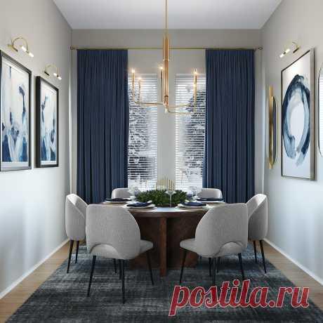 Интерьер обеденной зоны. Идеи для дизайна дома и квартиры, фото, оформление, дизайн, цвет.