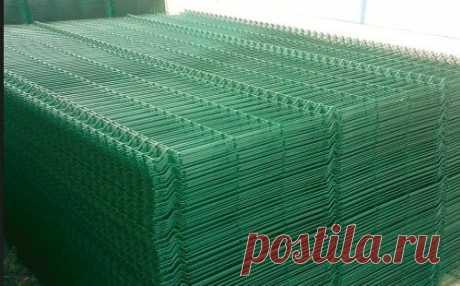 Секционные ограждения ( цинк + полимер ), Сварная Сетка,3d Забор: 112 грн. - Прочие стройматериалы Киев на Olx