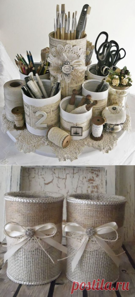 Ideas of use of cans