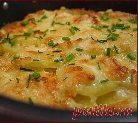 Картофель по-французски   Sladkij-domik.ru   Яндекс Дзен