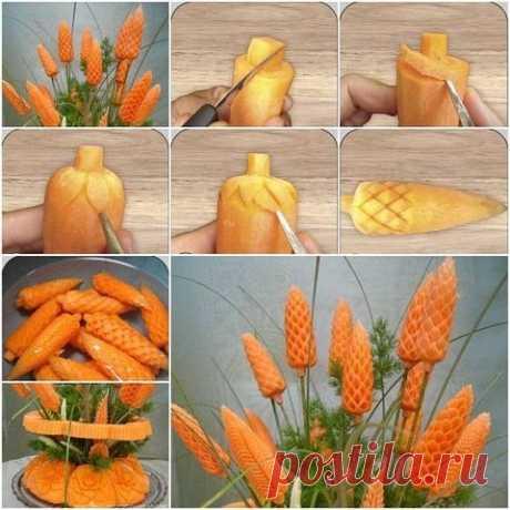 Как сделать красивые украшения из еды
