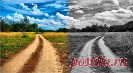 Не нравится мне слово судьба... Жизненный путь - это выбор