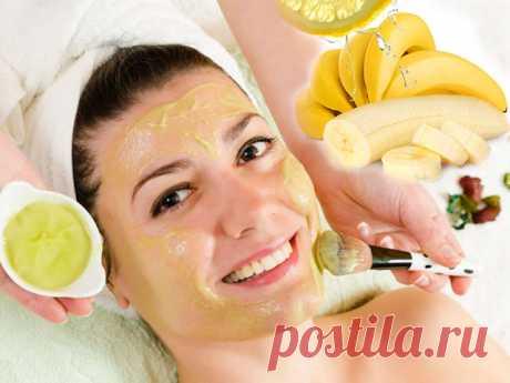 Как приготовить омолаживающую банановую маску для лица