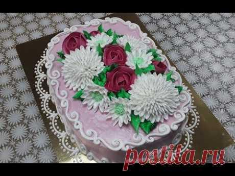 Овальный торт