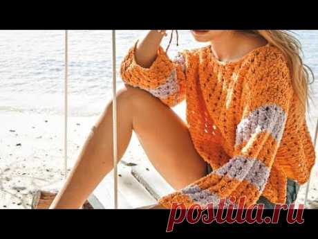 Bright knitted patterns for the summer.