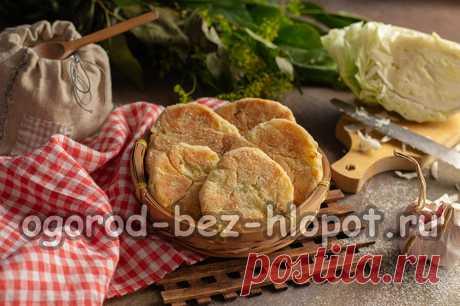 Капустные булочки: пошаговый рецепт с фото