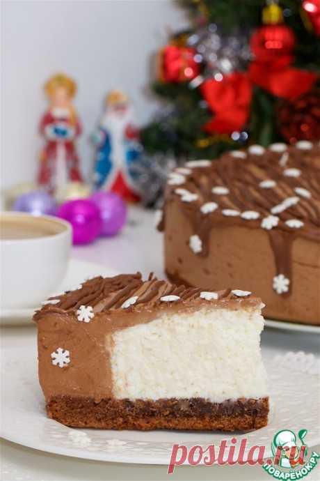 Торт шоколадно-сливочный – кулинарный рецепт