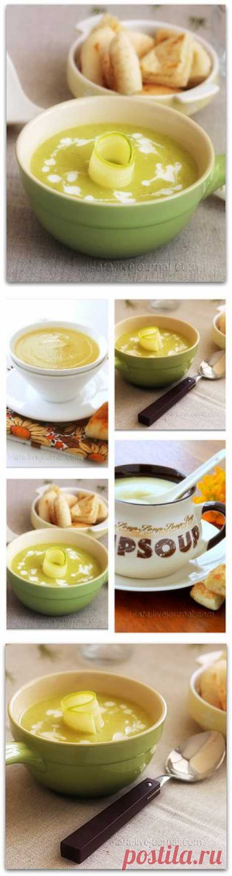 Крем-суп из кабачков | Четыре вкуса
