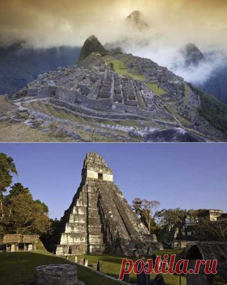 20 знаменитых затерянных городов | Занимательный журнал