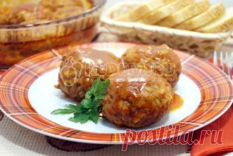 Тефтели с рисом в духовке – Пошаговый рецепт с фото. Вторые блюда. Вкусные рецепты с фото. Блюда из мяса