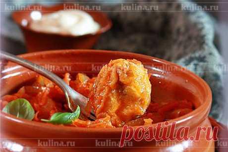 Минтай под овощным маринадом – рецепт приготовления с фото от Kulina.Ru