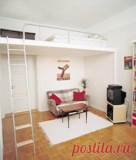 Кровати-чердаки — Сделай сам, идеи для творчества - DIY Ideas