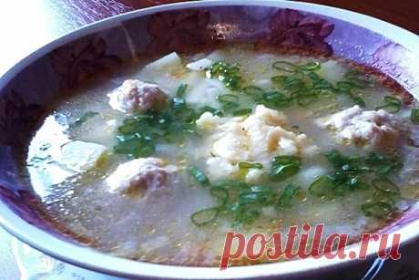 Суп с галушками и фрикадельками — Домашние рецепты с фото