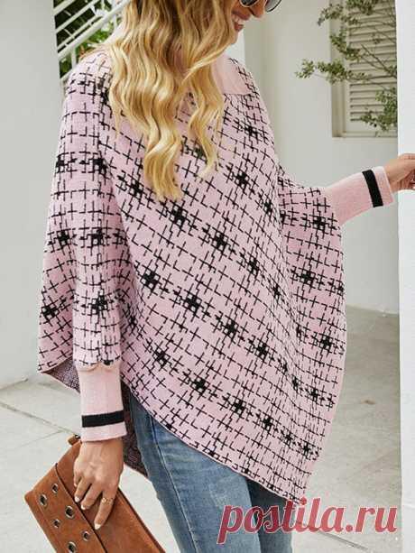 Модный женский свободный вязаный свитер-накидка с лацканами и длинными рукавами - NewChic