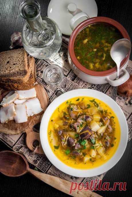 Литературная кухня: Суп с потрошками для Глеба Жеглова