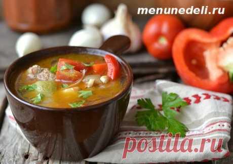 Картофельный суп с клёцками как в детском саду - рецепт с пошаговыми фото / Меню недели