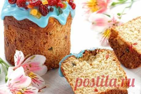 Сочный творожный кулич. Ингредиенты: сливочное масло, сахар, соль   Официальный сайт кулинарных рецептов Юлии Высоцкой