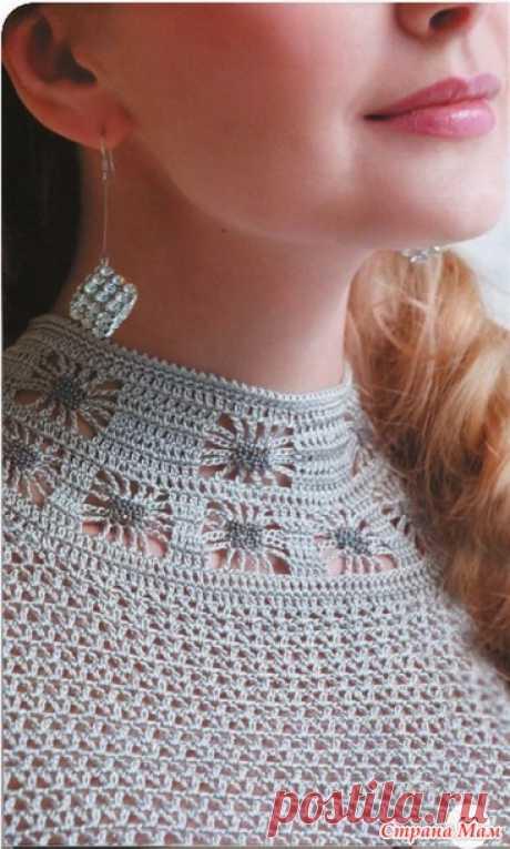 Шикарное платье для настоящей леди - Все в ажуре... (вязание крючком) - Страна Мам