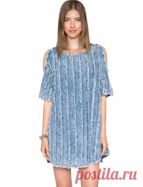 Платье синель