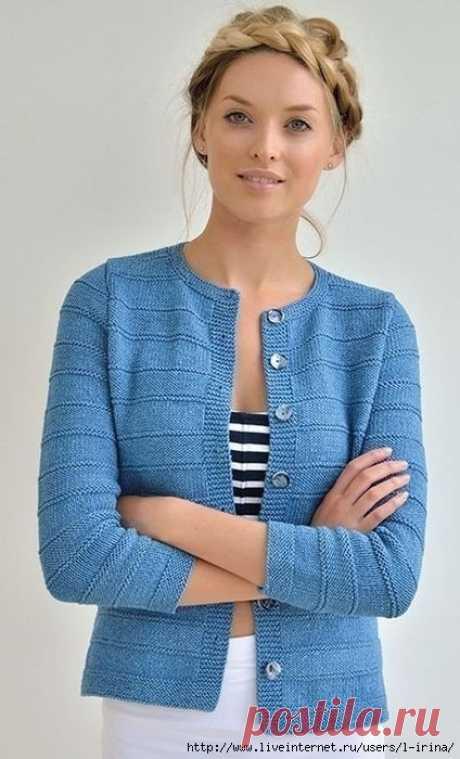 Жакет Dune от Ким Харгрейвз. Воплощение (Вязание спицами) – Журнал Вдохновение Рукодельницы