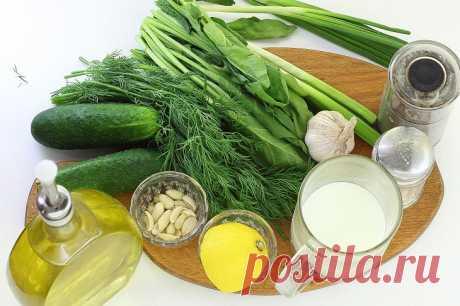 """Холодный суп """"Таратор"""" по-болгарски: рецепт с фото пошагово"""