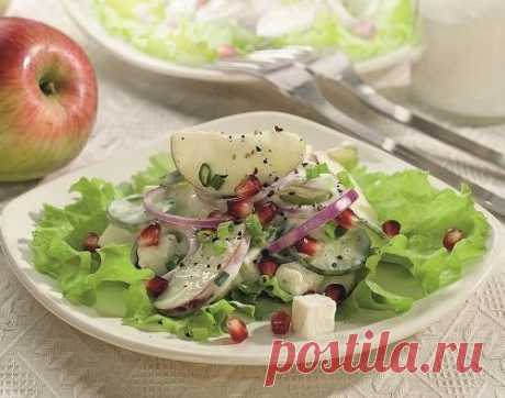 Light vitamin salads: recipes for New year
