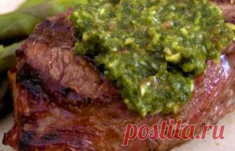 Chimichurri – the Argentina sauce to meat - the recipe
