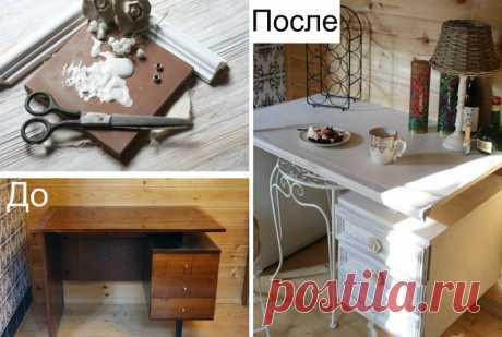 17 лучших идей переделки старой мебели, которые помогут качественно обновить интерьер