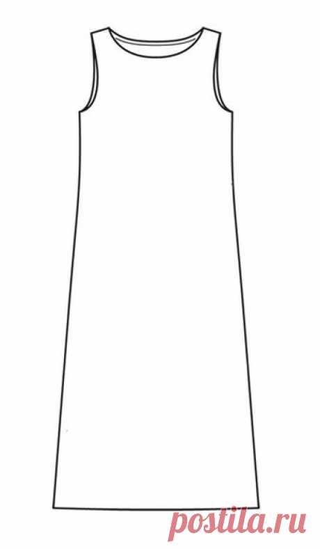 Три способа сшить летнее платье без выкройки / Мастер-классы / Burdastyle