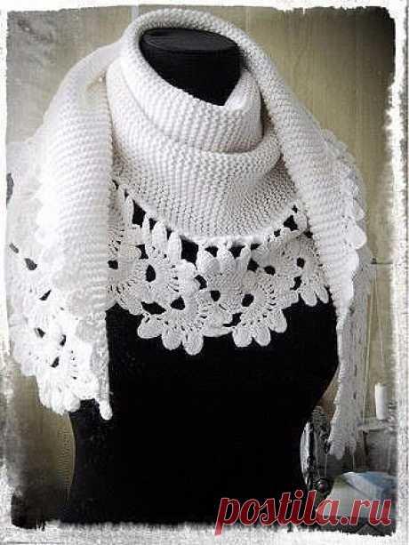 Красивые узоры для шарфика
