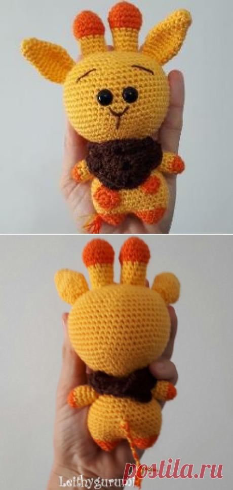 Жираф амигуруми крючком: схема вязания игрушки   AmiguRoom