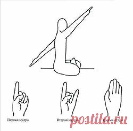 9-МИНУТНАЯ МЕДИТАЦИЯ - КРИЙЯ ДОЛГОЛЕТИЯ.  Сядьте с прямой спиной. Вытяните левую руку позади вас вниз под углом 60°, правую руку вперед и вверх под углом 60°. Две руки должны сформировать прямую линию под углом 60° спереди и сзади. Держите