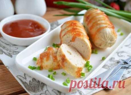 Домашние сосиски (рецепт с фото) #ДомашниеСосиски #Рецепт_с_фото #Кулинария #ВторыеБлюда