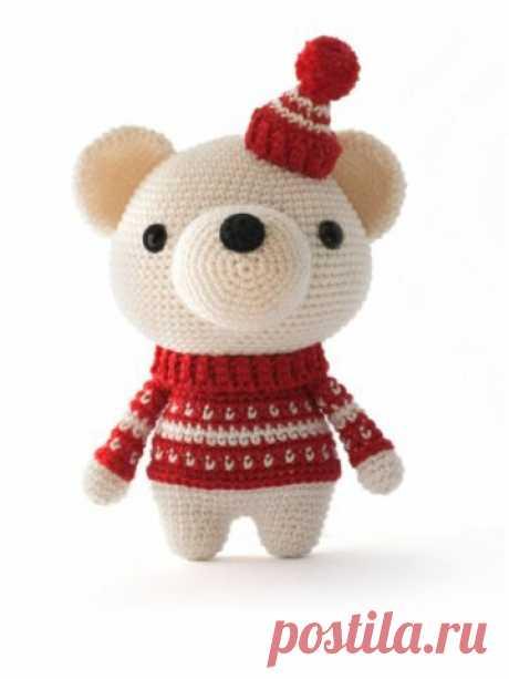 Мишка Снежок