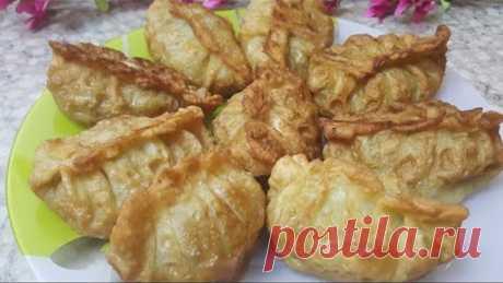 Почему я раньше это не готовила..* Уйгурская блюда Хошаны..* Жареные манты.. Узбечка готовит