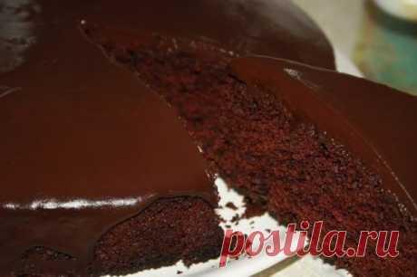 Торт шоколадный в мультиварке