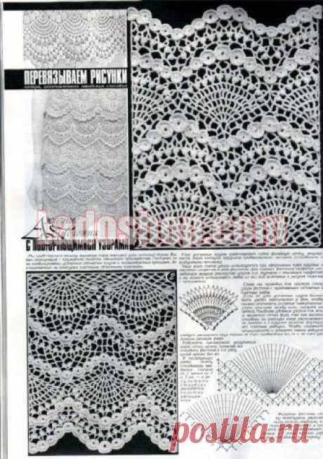 Duplet 197 Ukrainian Russian new crochet patterns magazine book January - February 2018