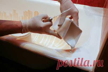 Как вернуть белизну эмалевому покрытию ванной — Мой дом