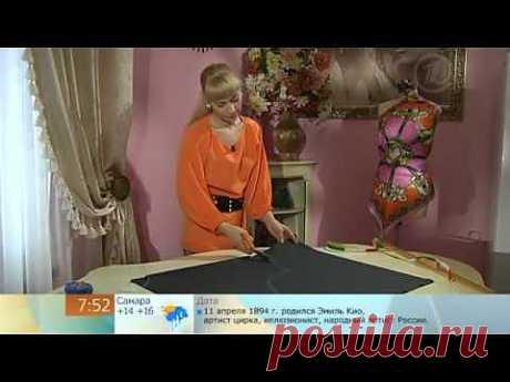 Трикотажное платье-блузон.mp4 - YouTube